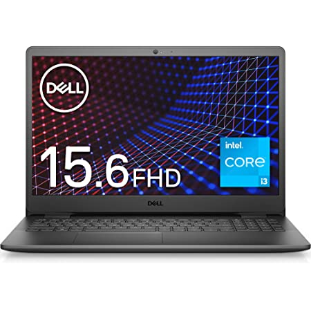 Dell ノートパソコン Inspiron 15 3501 ブラック Win10/15.6FHD/Core i3-1115G4/8GB/256GB/Webカメラ/無線LAN NI335A-AWLB