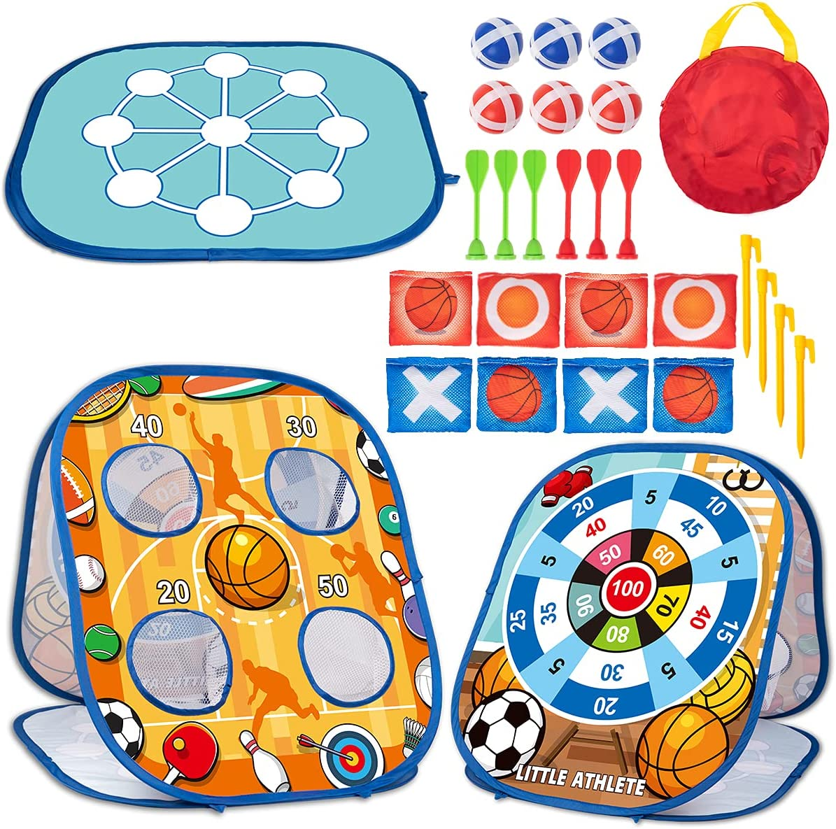 3 Sale special price in 2021 model 1 Bean Bag Toss Game Toys Kids for Set Outside To