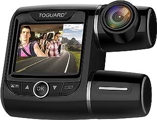 Toguard デュアル ドライブレコーダー 1080P フル HD フルハイビジョン 車内外同時録画 170度広角 CE40
