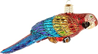 Old World Christmas 16117 Ornament, Parrot