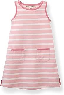 Hope & Henry Girls' Pique Tank Dress
