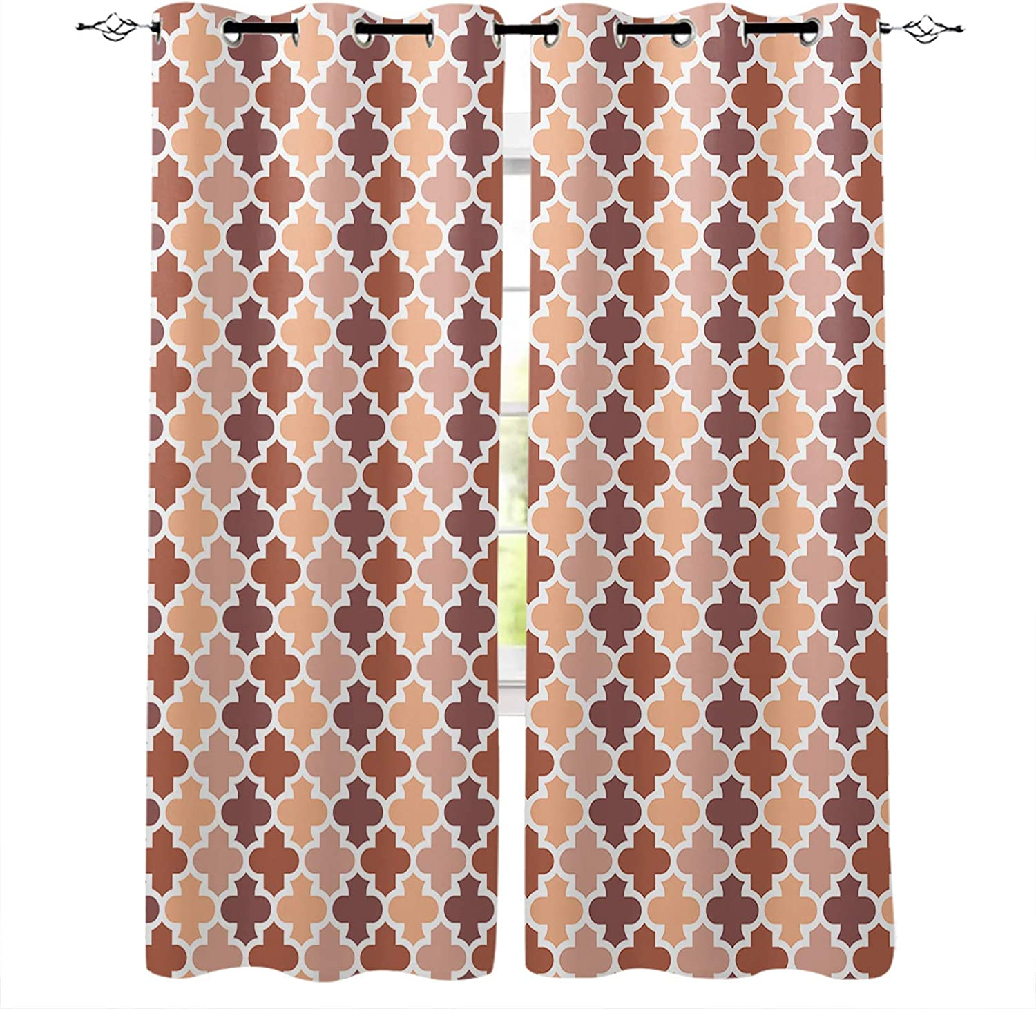 Blackout Curtains for New York Mall Bedroom-Room Thermal Insulated Seasonal Wrap Introduction C Darkening