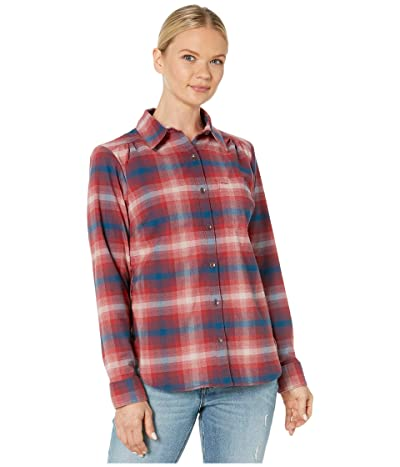 Royal Robbins Merinoluxtm Flannel Long Sleeve (Brick Red) Women