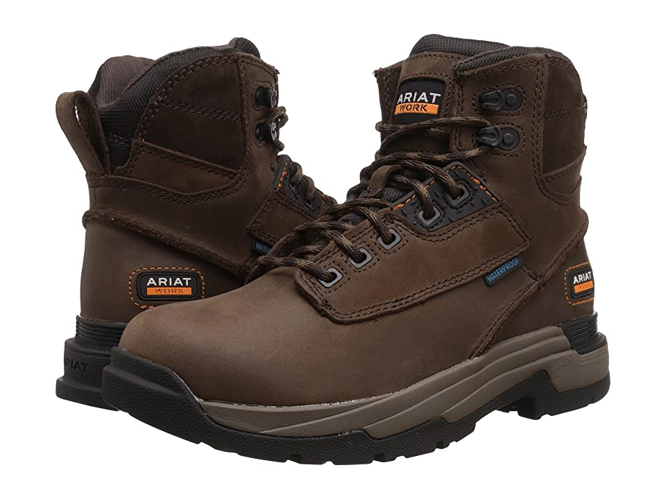 Ariat Mastergrip 6 H2O (Oily Distressed Brown) Men