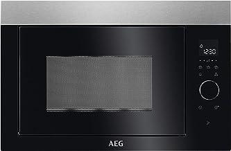 AEG MBE2657SEM Integrado Solo - Microondas (Integrado, Solo microondas, 26 L, 900 W, Tocar, Negro, Acero inoxidable)