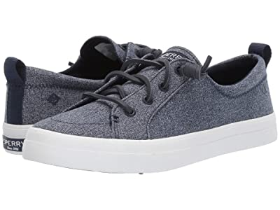 Sperry Crest Vibe Sparkle Chambray (Navy) Women