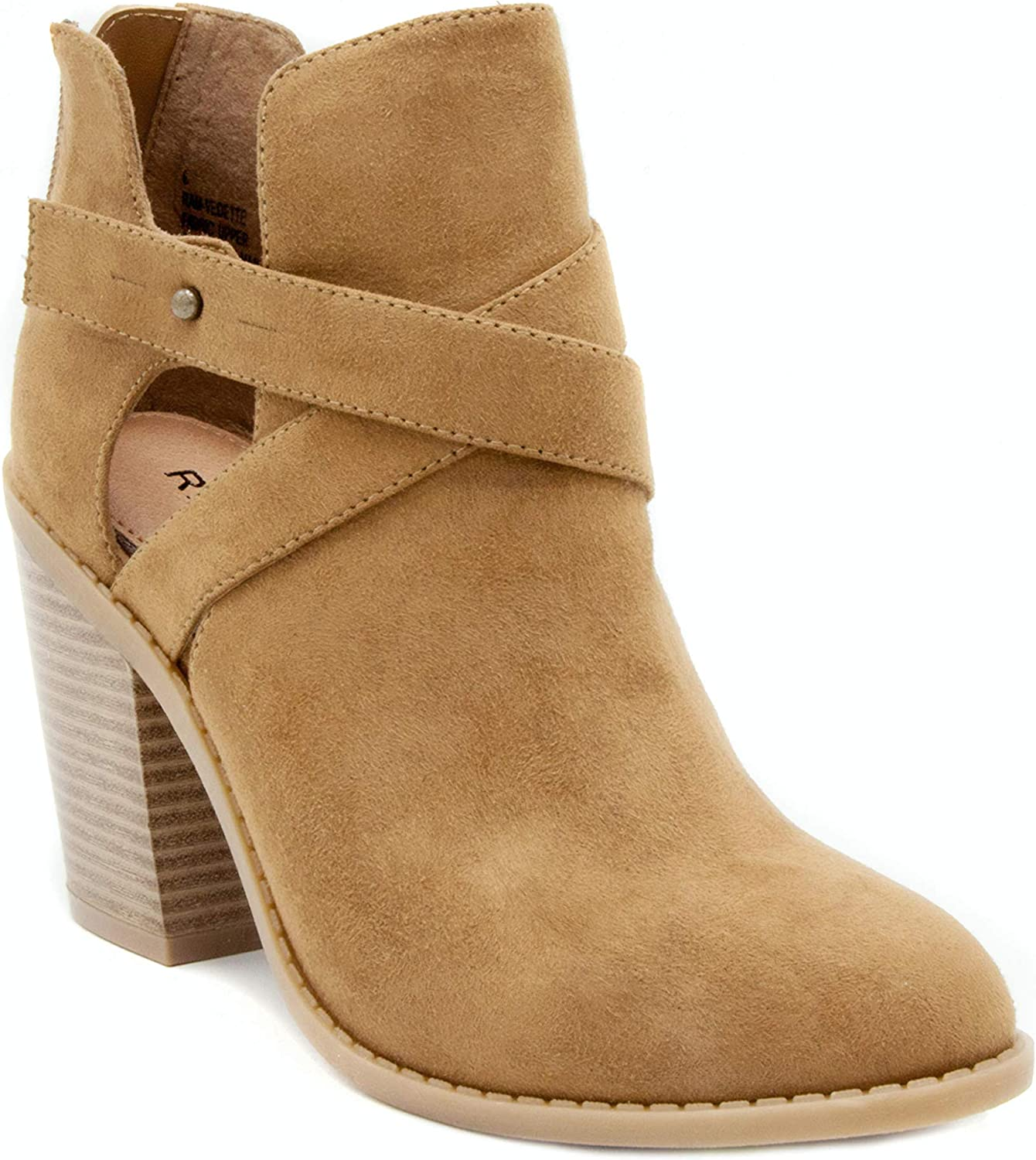 Rampage Womens Vedette Ankle Boot