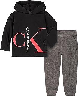 Calvin Klein Conjunto de 2 Pantalones con Capucha Juego de Pantalones para Niños