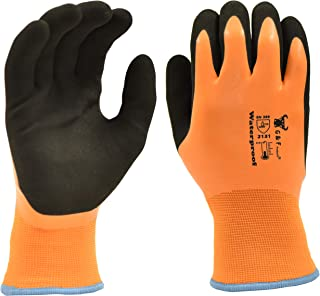 G & F Products 100% Waterproof Winter Gloves for outdoor cold weather Double Coated..