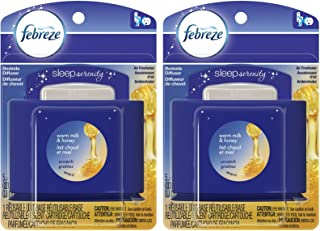 Febreze Set & Refresh Sleep Serenity Bedside Diffuser - Warm Milk & Honey - 2 pk