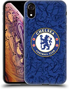Head Case Designs Officially Licensed Chelsea Football Club Home 2019/20 Kit Soft Gel Case Compatible with Apple iPhone XR