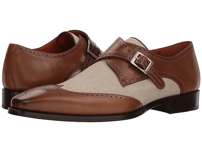 Rockabilly Men's Clothing Mezlan Wien TanBone Mens Shoes $173.45 AT vintagedancer.com