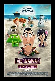 Wallspace 11x17 Framed Movie Poster - Hotel Transylvania 3 Summer Vacation