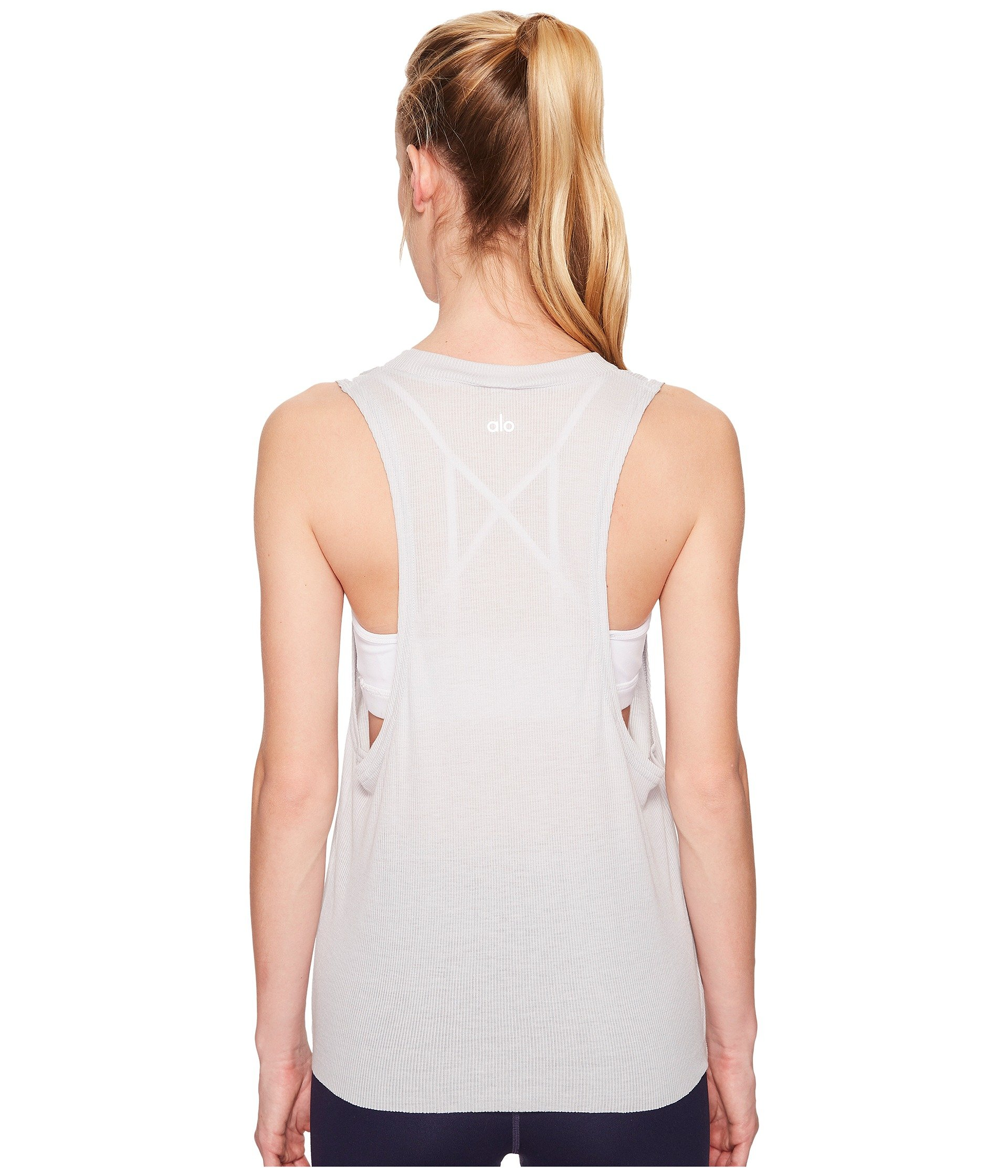 prior Grey Heat Alo Season wave Dove Tank Top XSYXw6Zqf
