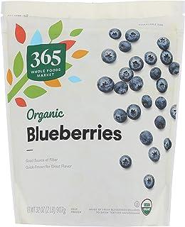 365 by Whole Foods Market, Frozen Organic Fruit, Blueberries, 32 Ounce