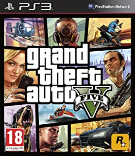 Grand Theft Auto V PS3 [video game]