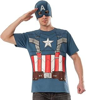Rubie's Costume Men's Marvel Universe Captain America The Winter Soldier T-Shirt