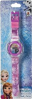 Disney Frozen Girls Digital Dial with Rotating Running light Wristwatch - SA7177 Frozen-B