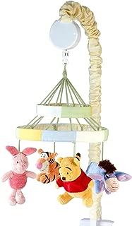Disney Winnie The Peeking Pooh Nursery Crib Musical Mobile, Yellow, Orange, Blue