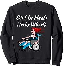 Handicap Humor Disabled Diva Hobble No More Pain Snore Bore Sweatshirt