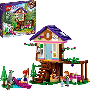 LEGO Friends Forest House 41679 Building Kit; Forest Toy with a Tree House; Great Gift for Kids Who Love Nature; New 2021 (326 Pieces)