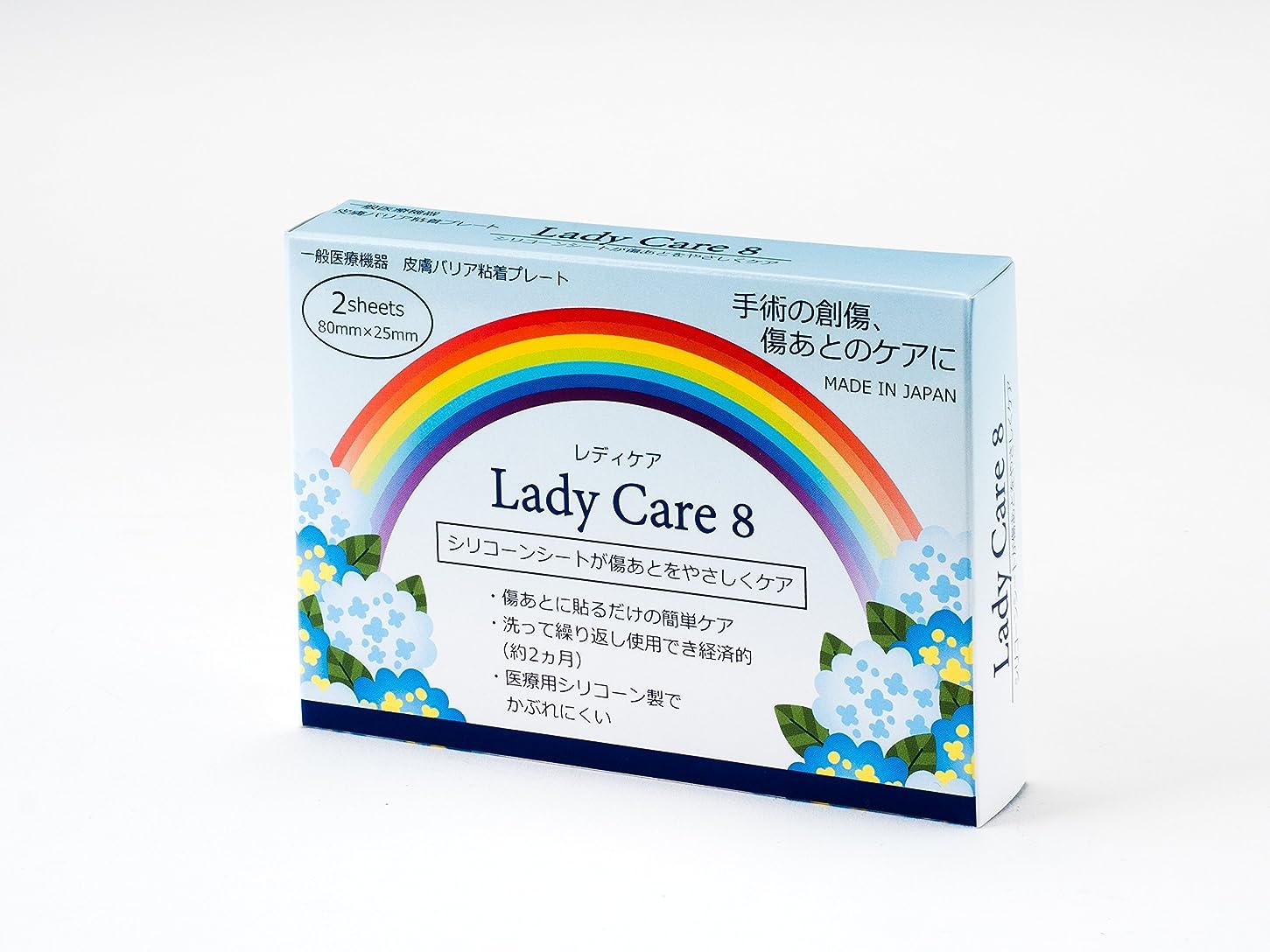 スペイン語壊すファイターギネマム Lady Care8 レディケア8 【8cm×2.5cm】 2枚入り 術後