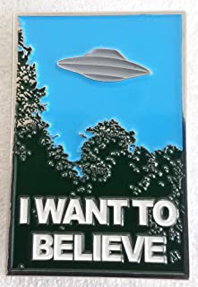 X-Files - Mulder's I Want to Believe Poster Pin