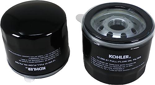 2021 Kohler 12 050 01-S Oil new arrival Filter (Pack lowest of 2) online sale