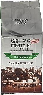 Maatouk Coffee W\cardamom 400 Gr.