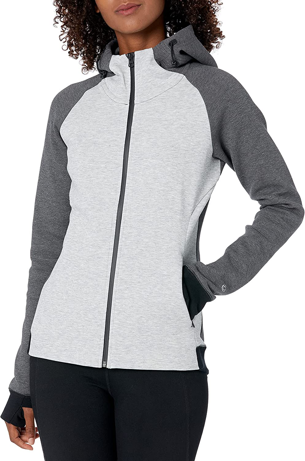 Core 10 Women's Motion Tech Fees free!! Jacket Baltimore Mall Fitted Fleece Full-Zip Hoodie