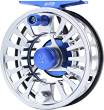 M MAXIMUMCATCH Maxcatch Fly Fishing Reel with CNC-machined Aluminum Body Avid Series Best Value - 1/3, 3/4, 5/6, 7/8, 9/10 Weights(Black, Green, Blue, Silver, Black&Silver)