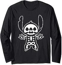 Disney Stitch Halloween Skeleton  Long Sleeve T-Shirt