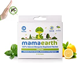 Mamaearth Natural Repellent Mosquito Patches for Babies, 24 Patches