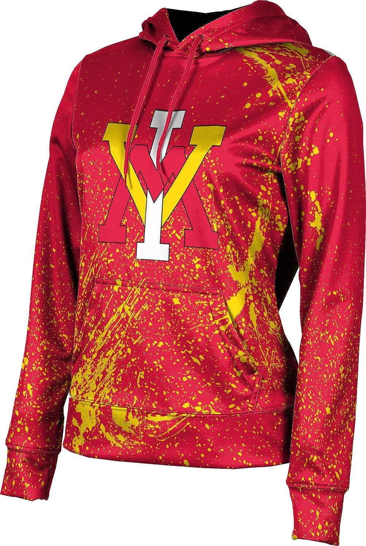 ProSphere Virginia Military Institute Girls' Pullover Hoodie, School Spirit Sweatshirt (Splatter)