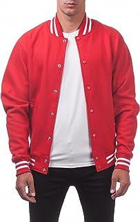 Pro Club Men's Varsity Fleece Baseball Jacket