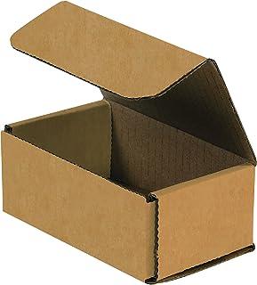 Box bm532 K Wellpappe Versandtaschen, 20,3 x 7,6 x 5,1 cm Kraft (50 Stück) B01BGFXITW  Gute Qualität