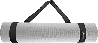 ProSource Yoga Mat Carrying Sling,  Easy Adjustable Carry Strap 152cm Long Cotton
