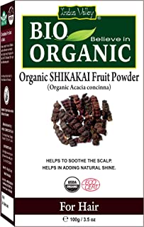 Indus Valley Natural Shikakai Fruit Powder For Hair conditioning