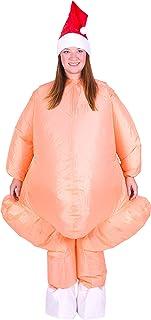 Bodysocks® Disfraz Hinchable de Pavo Adulto