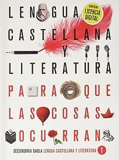 Lengua castellana y literatura 1º ESO LA PQLCO + Licencia Digital (Proyecto Para que las cosas ocurran)