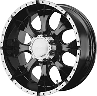 Helo HE791 Maxx Gloss Black Wheel With Milled Accents (17x8