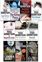 Tess Gerritsen Rizzoli & Isles Thriller 10 Books Collection Set - Apprentice, I Know a Secret, Last to Die, Vanish, Sinner, Killing Place, Surgeon,Keeping the Dead, Playing with Fire and Mephisto Club