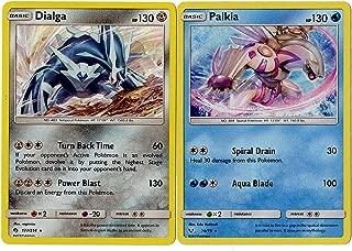 Dialga & Palkia Legendary Card Set 127/214 & 24/73 - Shining Legends 2 Card lot