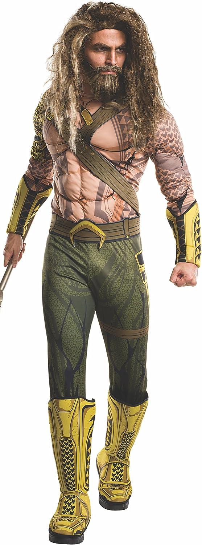 Aquaman Kostüm Batman vs Superman Erwachsenen - Standardgre (M-L)