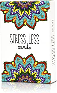 Stress Less Cards - 50 Mindfulness & Meditation Exercises - Helps Relieve Stress and Anxiety - The Original Deck
