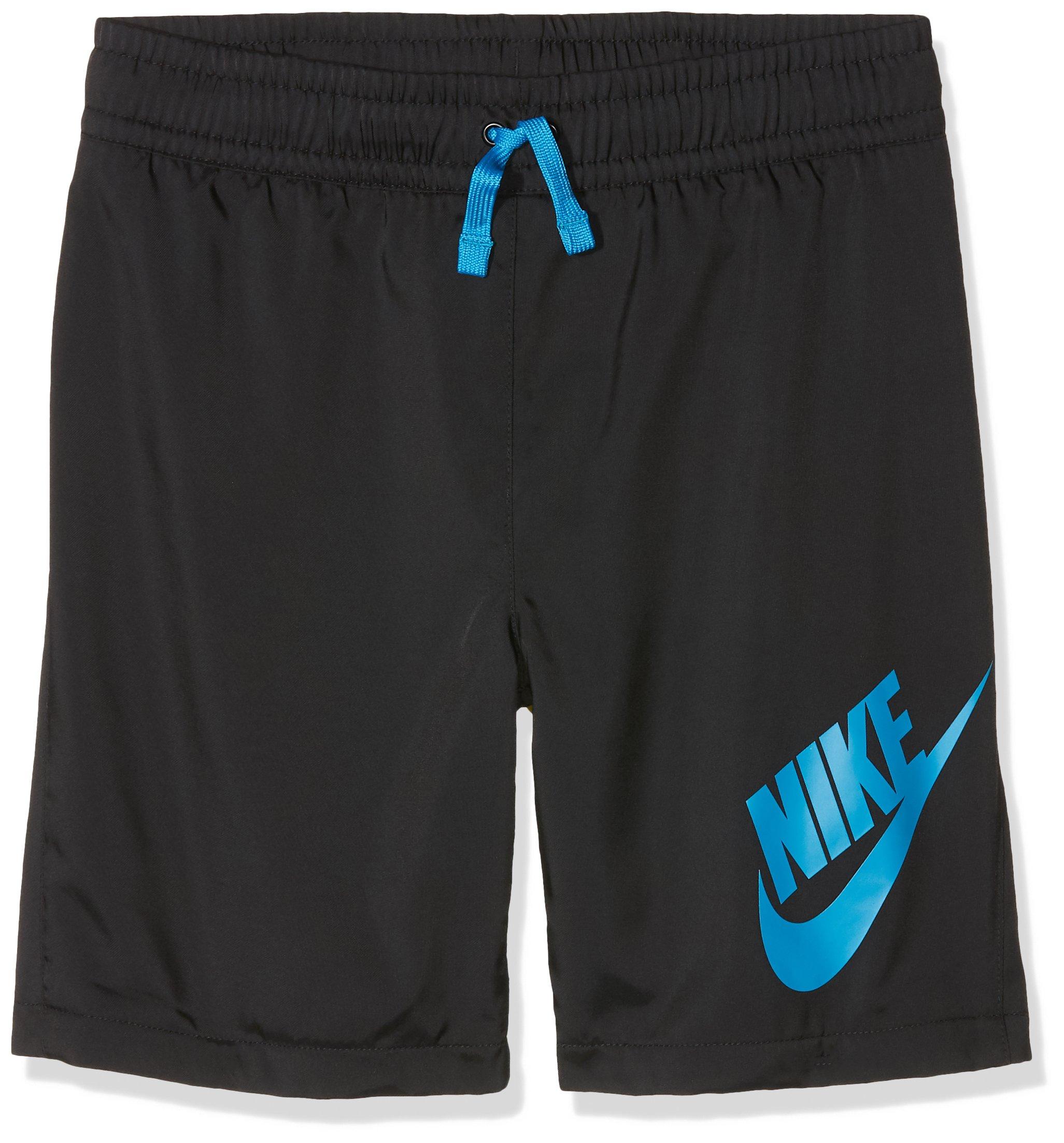 耐克运动装,男式短裤,黑色(黑色/赤道蓝色),S 码