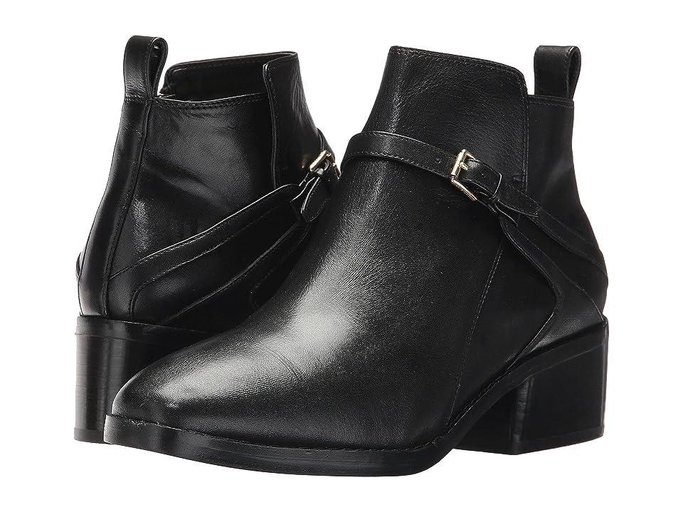 Cole Haan Etta Bootie II (Black Leather) Women