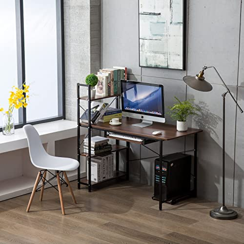 Super Computer Desks With Shelves Amazon Com Interior Design Ideas Skatsoteloinfo