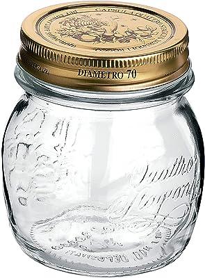 Bormioli Rocco Quattro Stagioni Jar, 8.5 oz