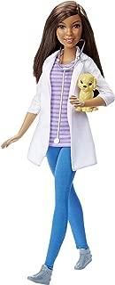 Barbie DHB19 Careers Veterinarian Doll, Dark Hair